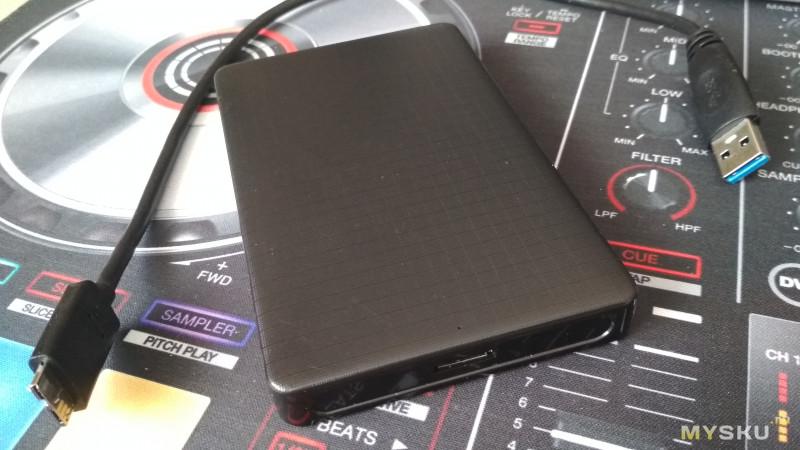 Замена HDD на SSD и использование USB 3.0 внешнего бокса. В пользовании 7 месяцев.