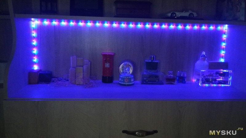 RGB светодиодная лента с питанием от USB