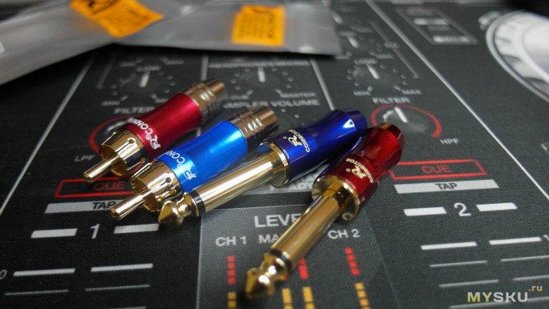 Самодельный аудио кабель Jack - RCA. HI-END за 5$ ?