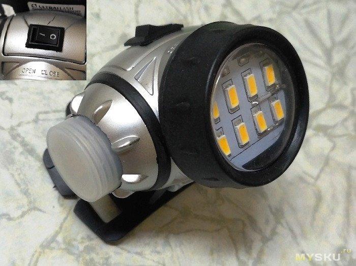 Ещё один вариант тюнинга налобного фонаря.