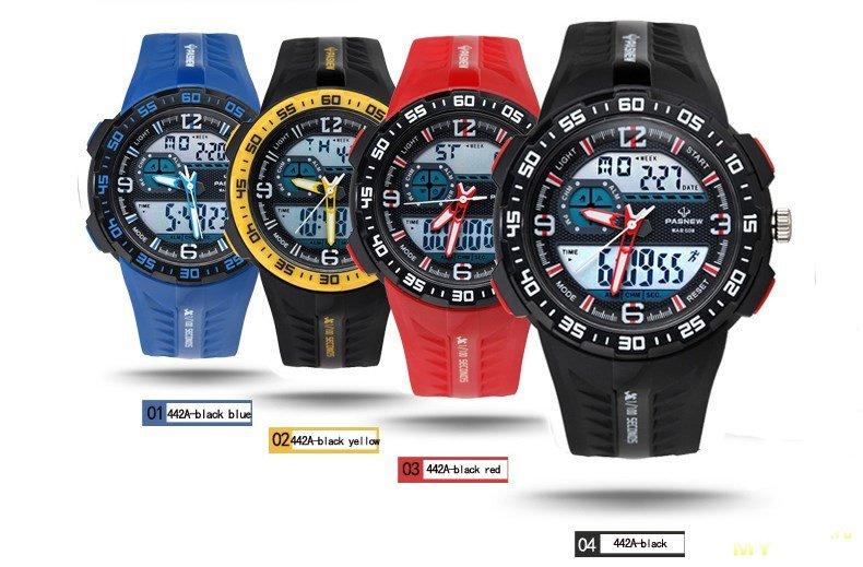 Наручные часы Pasnew PSE-442A