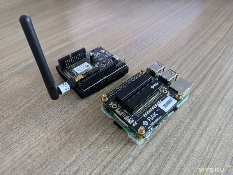 RAK starter kit - запускаем сеть LoRaWAN