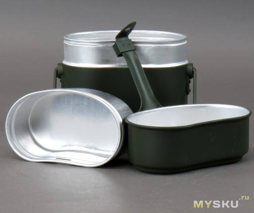 Титановый котелок TOAKS Titanium 1300ml Pot with Pan (POT-1300-BH )