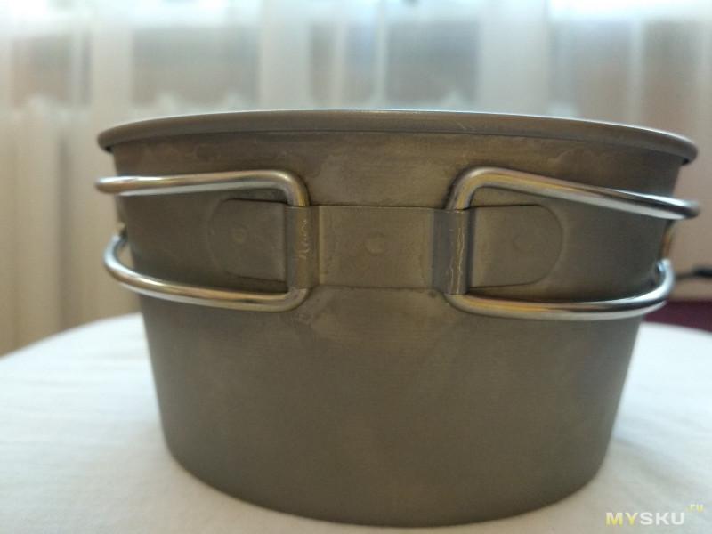 Титановая туристическая миска Belmont Titanium Sierra Cup Deep 480FH ( BM327 )