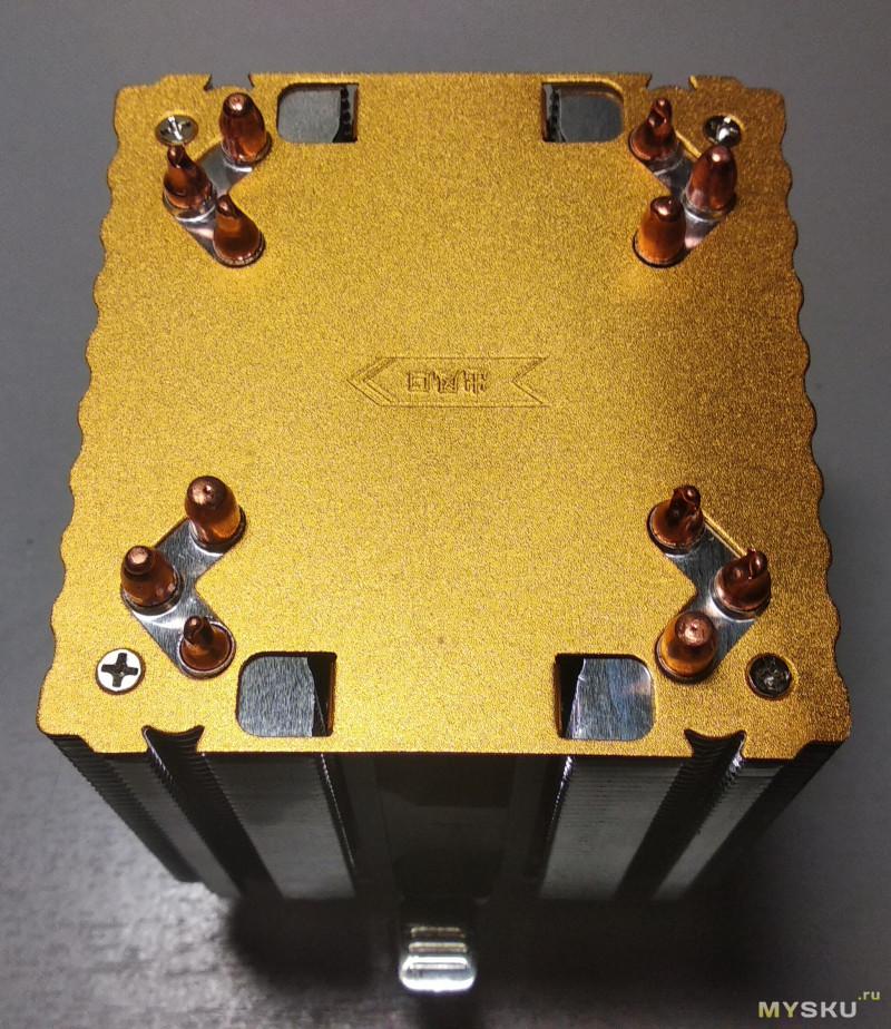Тест кулера для процессора, ARSYLID CN-609. Китайское охлаждение. Клубок медных змей.