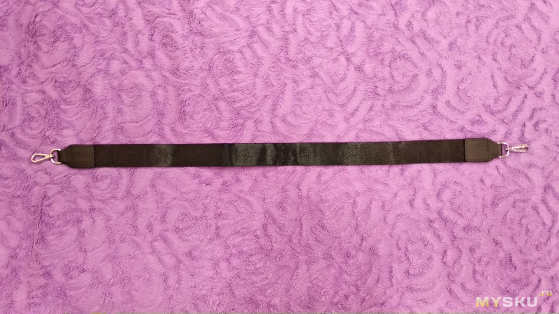 Кожаный женский рюкзак Bison Denim черного цвета. 2 в 1.
