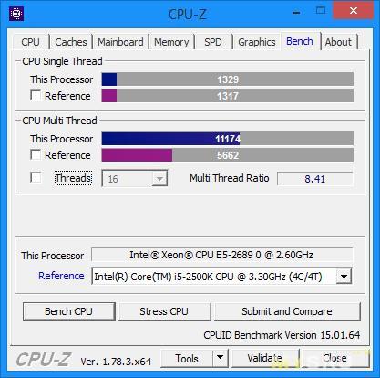 Небольшое тестирование комплекта Kllisre X79(LGA2011)+Xeon E5 2689+4x8 GB DDR3 (мат.плата+процессор+оперативная память). Много памяти, много потоков.