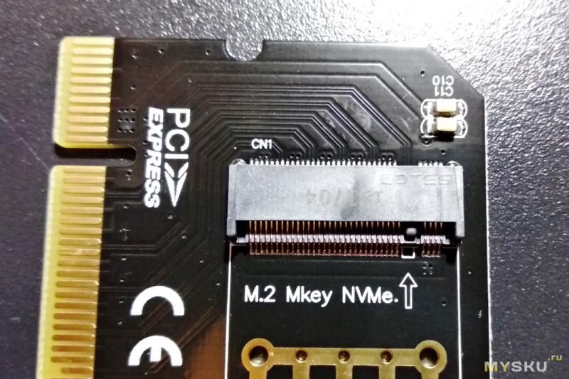 Тестирование переходника PCI-E x4 to M.2. Расширяем функционал материнской платы.