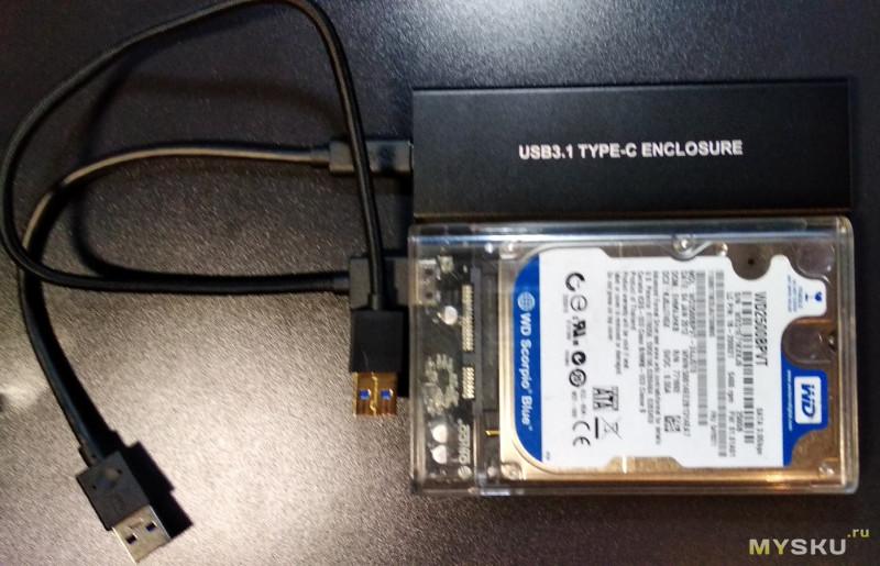 Тестирование внешнего бокса USB 3.1 Gen2 на контроллере JMS583 для NVME M.2 SSD накопителя. Годно.