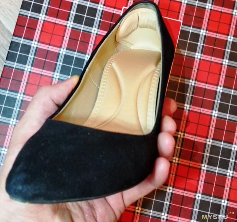Стельки в обувь с мягкой пяткой. Делаем красивые туфли чуть более удобными.