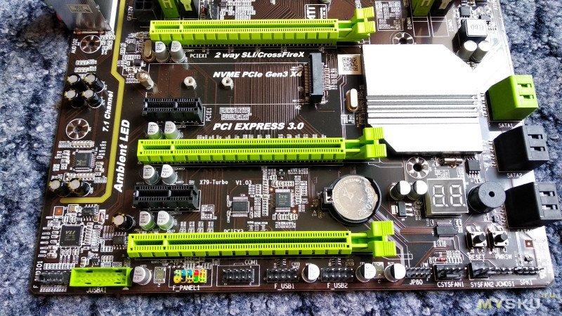 Материнская плата Atermiter X79 Turbo LGA2011. Смерть в прямом эфире.