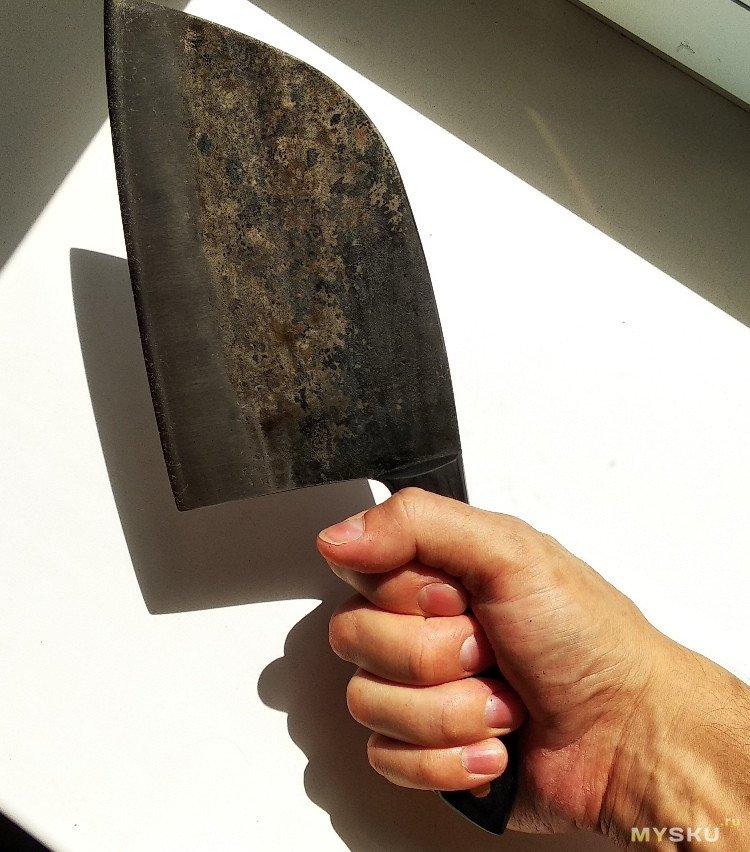 """Кованный 7"""" шеф-нож. Традиция в руках."""