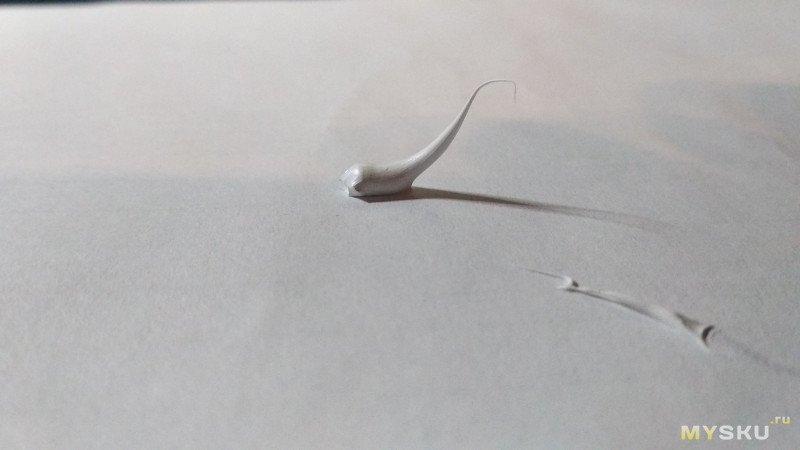 Тестирование термоклея GD9980. Первый блин всегда комом.