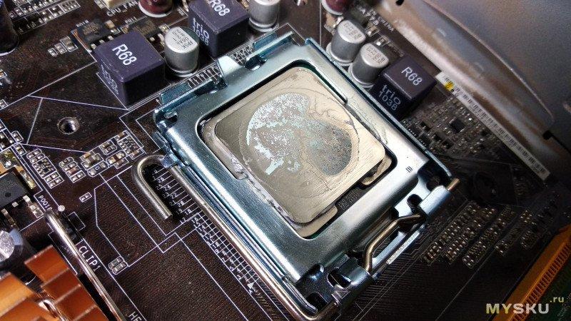 Тестирование теплопроводящего клея HC 910. Просто дешевый теплопроводящий клей.