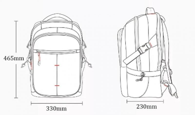 Рюкзак на 25 литров Urevo. За .50 с промо-кодом.