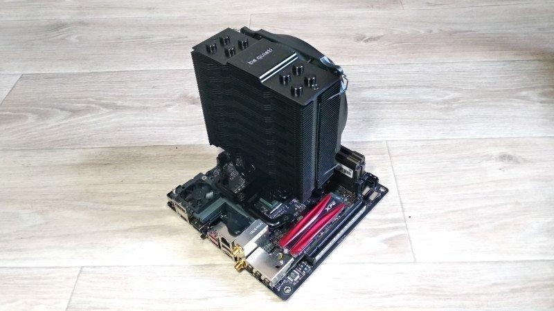 Обзор и тестирование кулера для процессора be quiet! DARK ROCK SLIM.