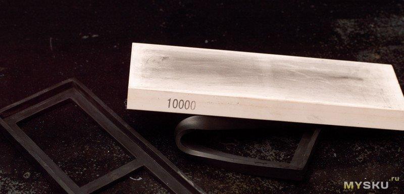 Водный камень 10000 Grit 6 на 18 см - когда подозревал, но не настолько же!