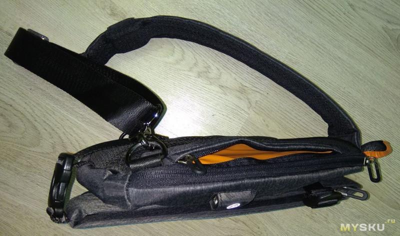 модный качественный рюкзак с одной лямкой