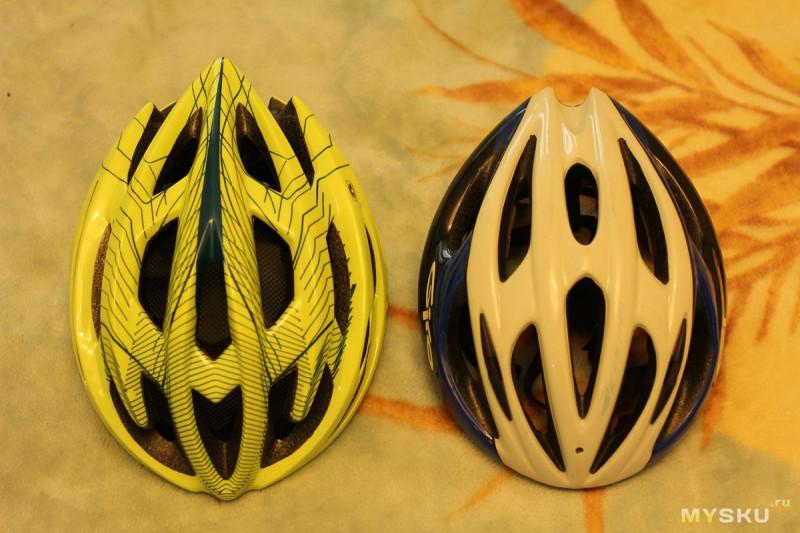 Обзор велосипедного шлема Cairbull веселых расцветок и сравнение с Giro