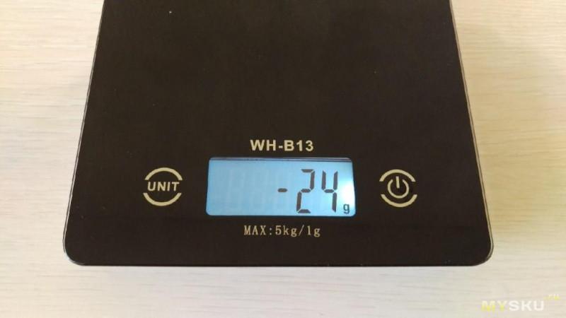 WH-B13. Кухонные весы за 13$.