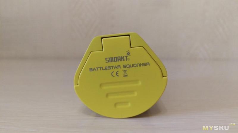 Smoant Battlestar Squonker 200W Kit. Осторожно VAPE!!!