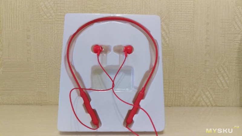 BT3130 Bluetooth 4.1 Headset Wireless Earphone (разборка)