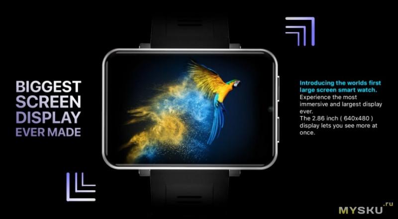 LEMFO LEM T 4G. умные часы.$105