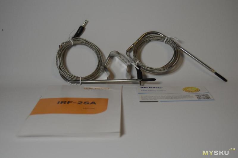 Беспроводной кулинарный термометр Inkbird IRF-2SA- смартфон больше не нужен.