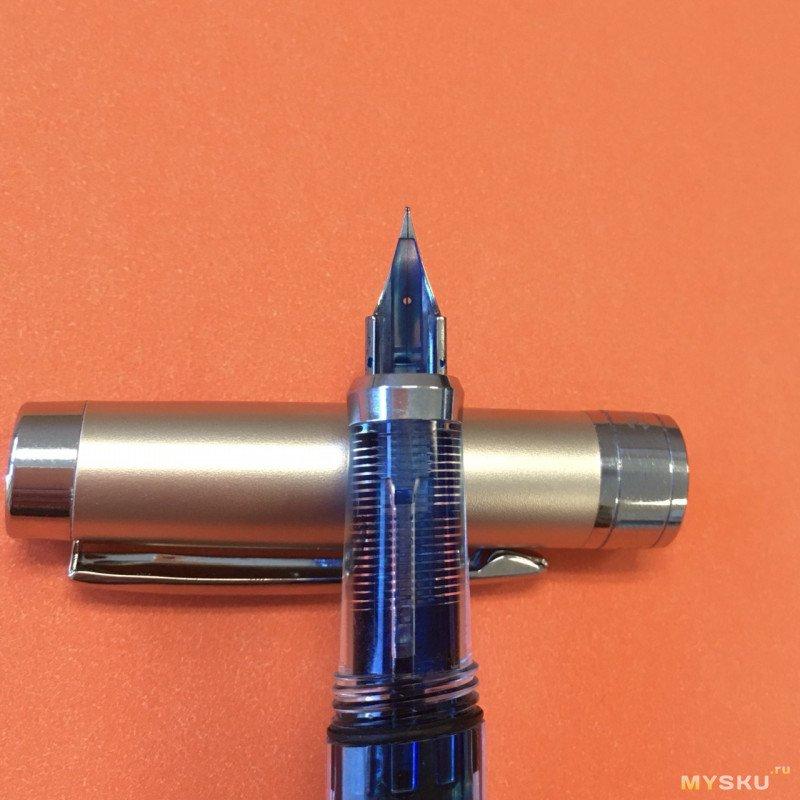 Перьевая ручка Wing Sung 3008, интересный демонстратор