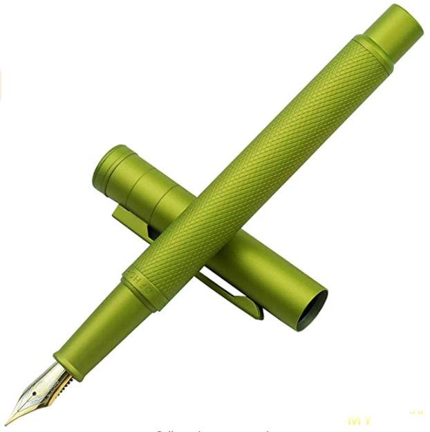Перьевая ручка Hongdian Dark Blue [Forest series], EF