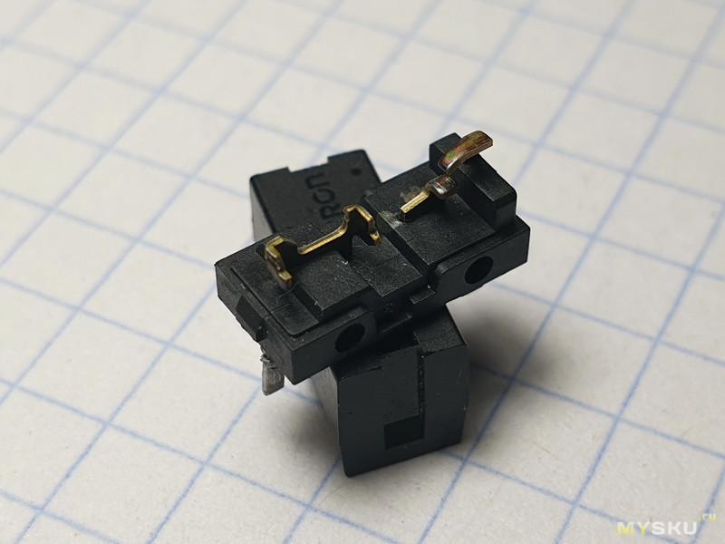 OMRON Micro Switch D2FC-F-7N. Реанимация захворавшего грызуна.