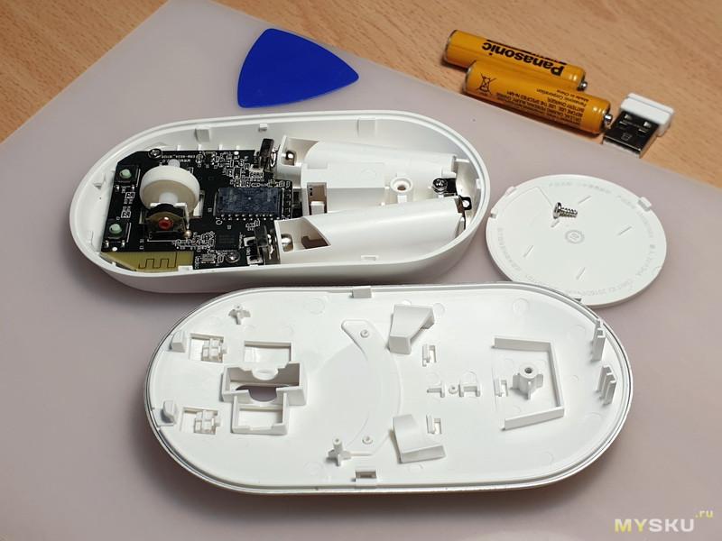 """Что внутри """"безщелчкового"""" энкодера Mi Portable Mouse. """"Допилинг"""" и замена. Пост о безымянных и """"фирменных"""" китайских энкодерах."""