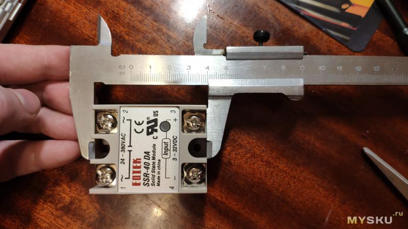 Твёрдотельное реле FQTEK (FOTEK) SSR-40 DA Релейная лотерея и похоже настоящие 40A