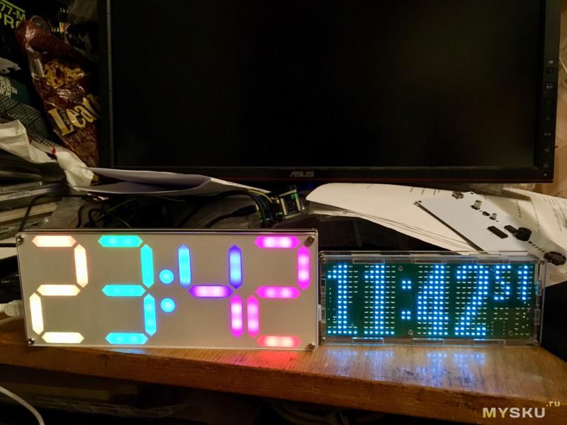 И ещё один DIY набор для сбоки часов