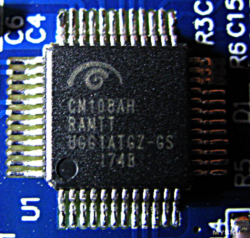 USB звуковая карточка SW-HF07 V3.1 на чипе CM108