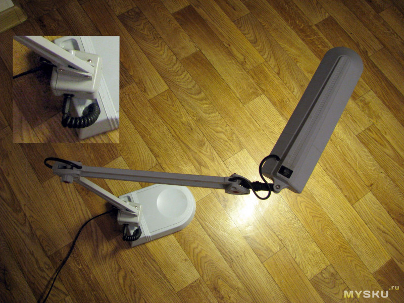 Переделка настольной лампы