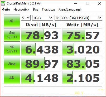 TomTop: Быстрая  карта памяти на 128ГБ Samsung U3 MB-MC128GA / CN