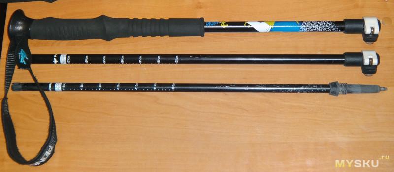 Треккинговые палки после 2-х лет использования