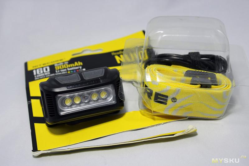 Хороший и недорогой налобный фонарь Nitecore NU10