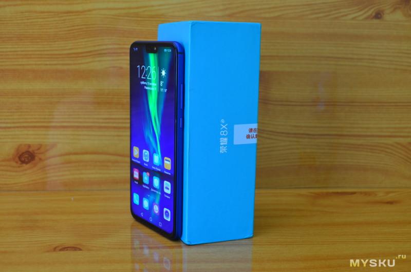Обзор смартфона Honor 8X