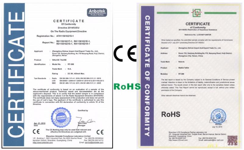 Комплект раций (детских) Retevis RT388