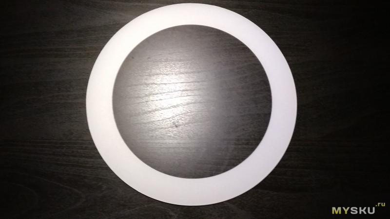 Светодиодное кольцо Tycipy, заказанное по акции.