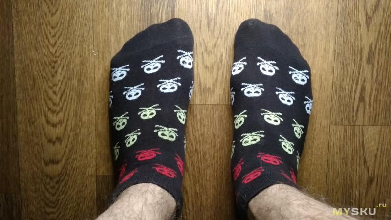 Обзор коротких (летних) носков из Китая.