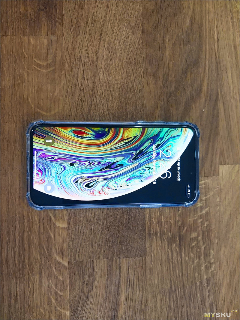 """Защитный """"жесткий"""" чехол для iPhone XS от iconflang"""