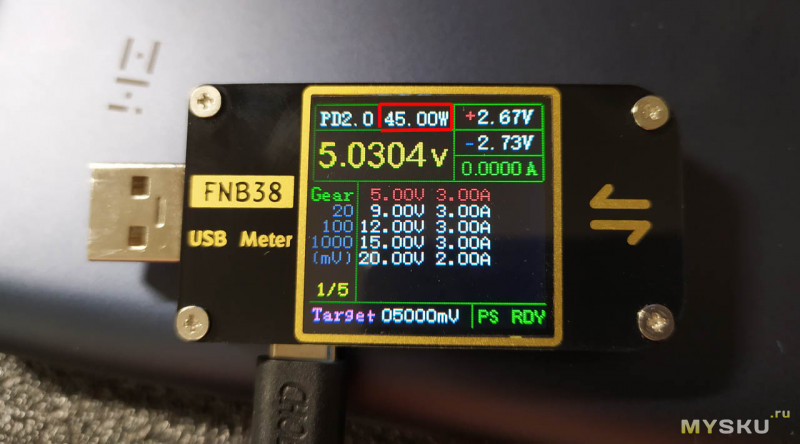 USB-тестер Fnirsi FNB38 - Топ за свои деньги. Обновляем прошивку до версии 1.30.