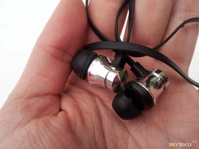 Бюджетные беспроводные Bluetooth наушники (гарнитура)