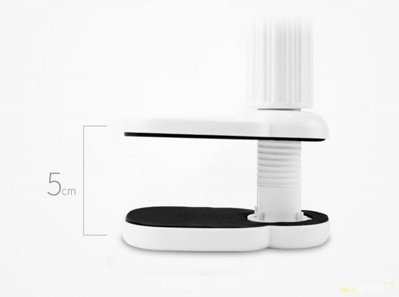 Настольная светодиодная лампа c большим уровнем освещения и тремя видами цветовой температуры
