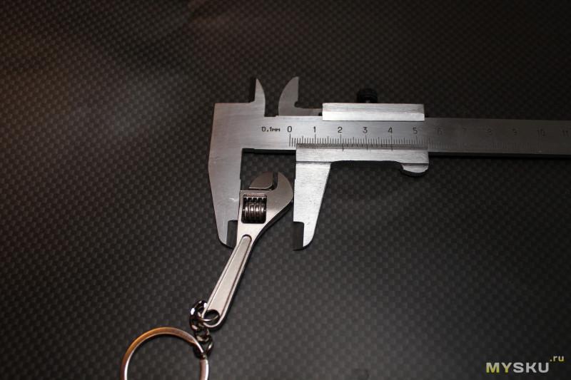 Брелок разводной ключ. От слова разводить.