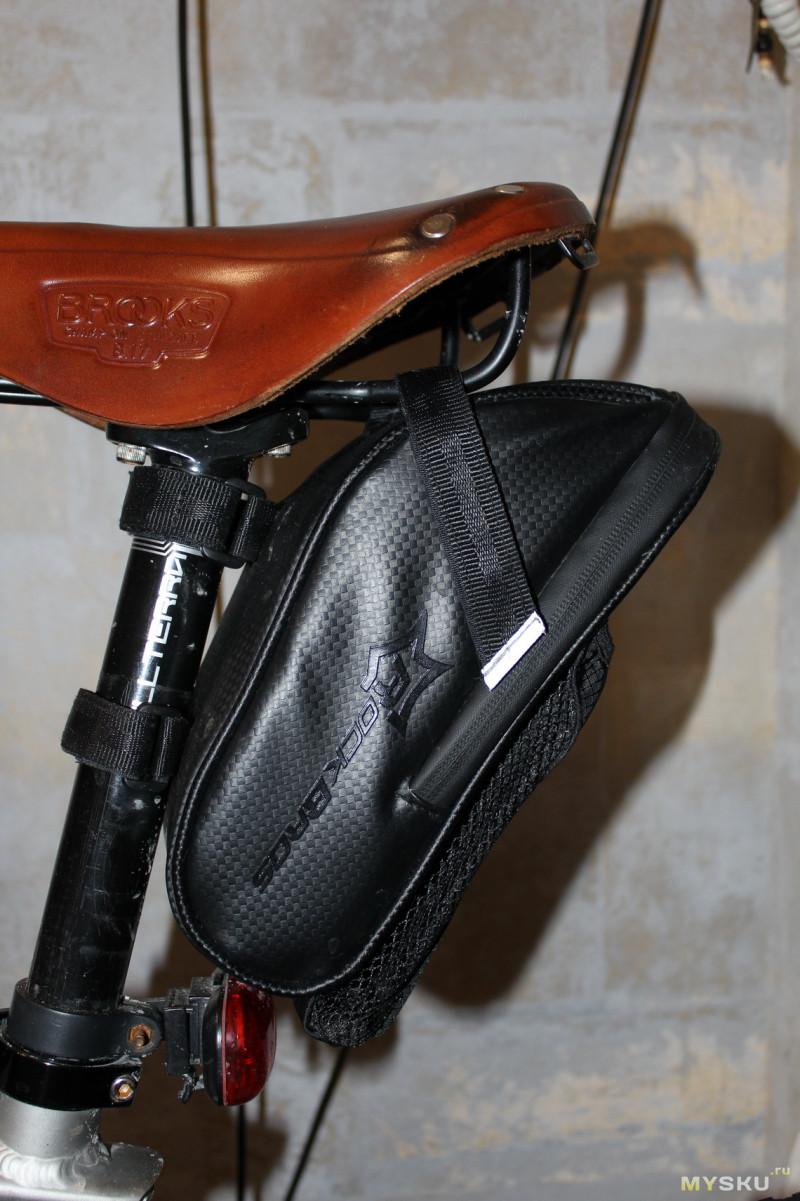 Неплохая велосумка RockBros С7. Хоть и не без недостатков, впрочем как всегда.