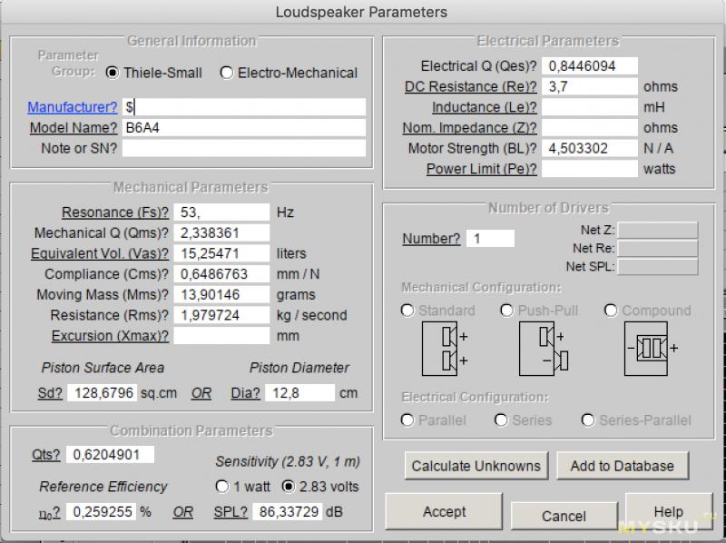 Делаем полочные АС своими руками, с использованием ВЧ динамика с Aliexpress